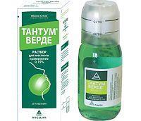 Тантум верде, р-р д/местн. прим. 1.5 мг/мл 120 мл №1 флаконы